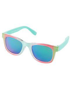 Óculos de Sol Carters Rosa com Verde - 0-24 meses