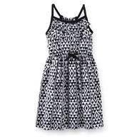 Vestido Carters Infantil - Black & White