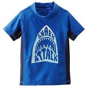 Camiseta Praia Oshkosh Tubarao - UPF 50+