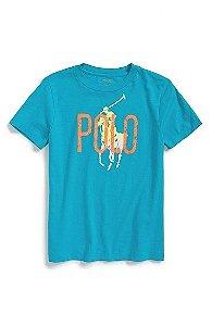 Camiseta Ralph Lauren - Azul