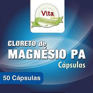 Cloreto de Magnésio PA - 50 Cápsulas