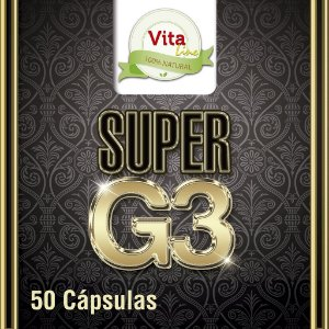 Super G3 - Guaraná, Ginseng, Ginkgo Biloba
