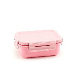 Mini Marmita Hermética Bicolor Rosa Quartz