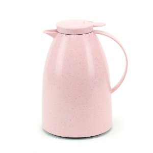 Garrafa Térmica Bule Viena com Gatilho 1 Litro Cerâmica Rosê