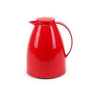 Garrafa Térmica Bule Viena 750 ml Cerâmica Vermelha