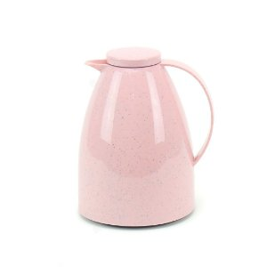 Garrafa Térmica Bule Viena 750 ml Cerâmica Rosê