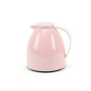 Garrafa Térmica Bule Viena Baby 400 ml Cerâmica Rosê