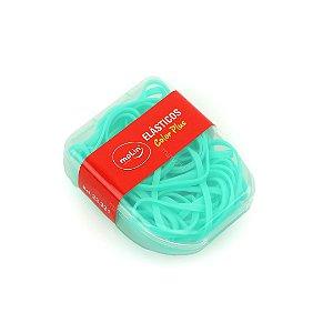 Kit Elásticos Color Plus Verde Caixa com 21 Unidades