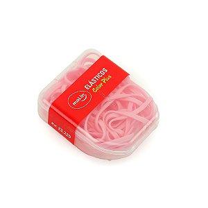 Kit Elásticos Color Plus Rosa Caixa com 21 Unidades
