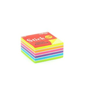 Cubo Mix de Notas Adesivas 400 Folhas