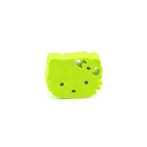Borracha Face Hello Kitty Verde