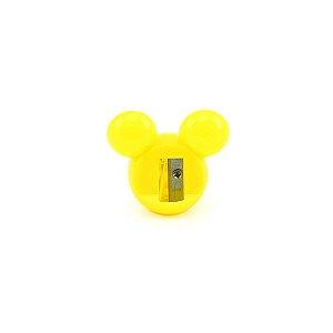 Apontador Mickey Face Amarelo