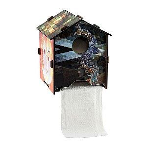 Porta Papel Higiênico Casa Artsy