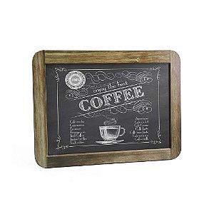 Quadro Decorativo Gizlosofia Coffee