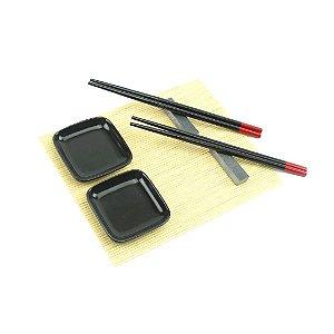 Kit Sushi para 2 Pessoas Nara 7 Peças
