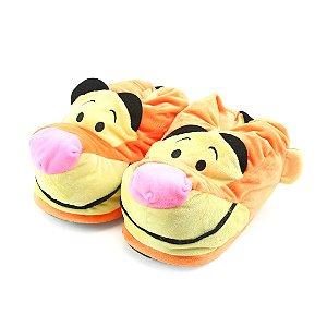 Pantufa 3D Turma do Ursinho Pooh: Tigrão