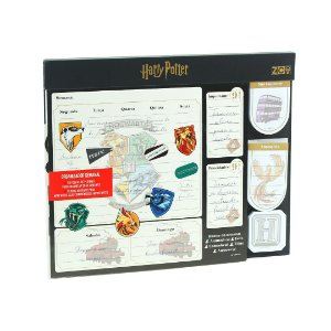 Bloco Planner Semanal com Notas Harry Potter