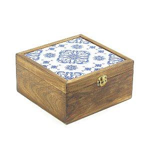 Caixa de Chá Pinus Colonial