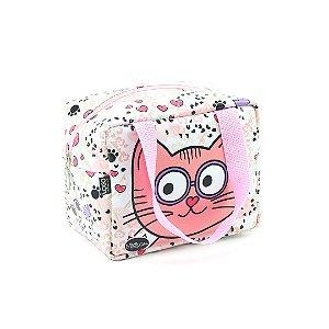 Bolsa Térmica Pequena Gatinho Miau