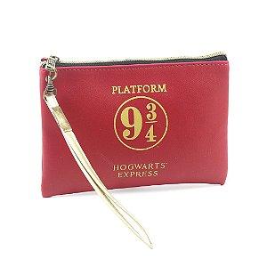 Necessaire Flat Harry Potter Plataforma 9 3/4