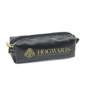 Mini Necessaire Harry Potter Preto Hogwarts