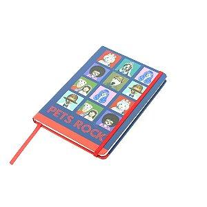 Caderno de Anotações Pets Rock