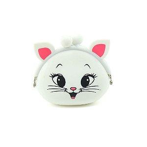 Carteira Niqueleira Gatinha Branca