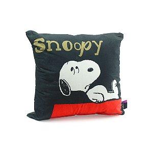 Almofada de Microfibra e Veludo Snoopy Get Going