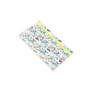 Caderno Fun Lhama no Deserto Branco Pequeno