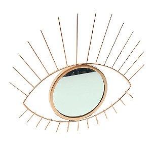 Espelho Olho Grego Rose Gold