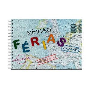 Álbum de Recordações Férias Mapa