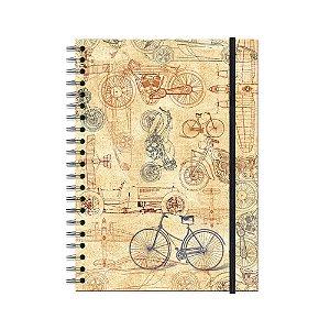 Caderno Universitário Bike 100 folhas