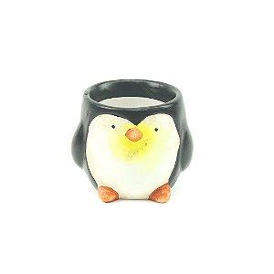 Cachepô em Porcelana Pinguim Pequeno