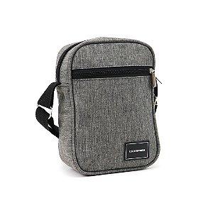 Bolsa Shoulder Bag Mescla Cinza
