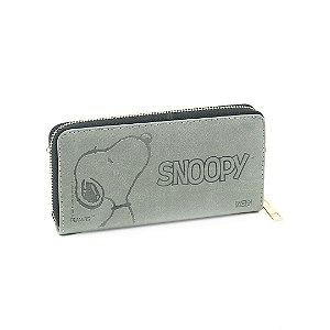 Carteira Grande com Relevo Snoopy