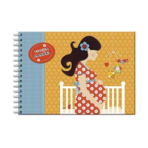 Álbum de Recordações Futura Mamãe Vestido Flores