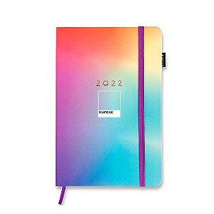 Agenda 2022 Planner Semanal Anotações Pantone Degradê Color Média