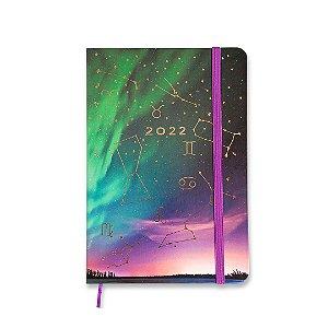 Agenda 2022 Planner Semanal Anotações Astral Boreal Média
