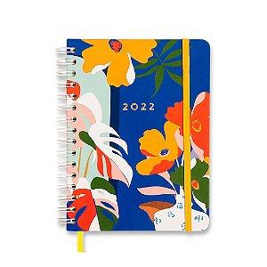 Agenda 2022 Planner Semanal A5 Wire-O Pólen Janelas Azul