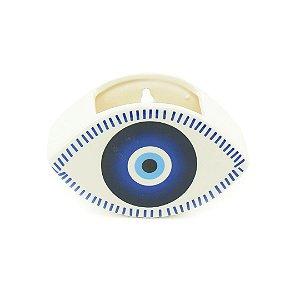 Cachepô em Porcelana de Olho Grego 3D