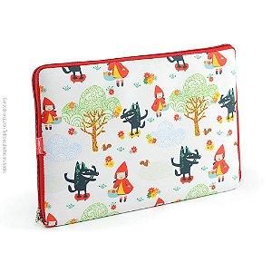 Case para Notebook 13 Chapeuzinho Vermelho