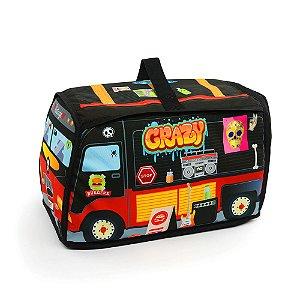 Bolsa Food Truck para Brinquedo Preta