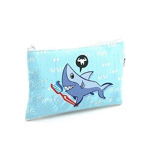 Necessaire Envelope Infantil Tubarão