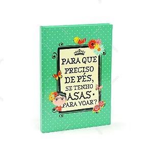 Caderno Médio Capa Dura Frida