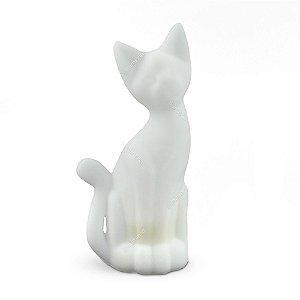 Luminária Gato Magrelo Branco