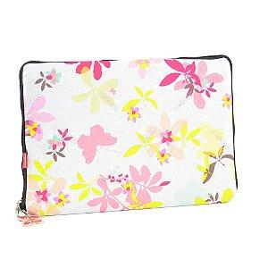 Case para Notebook 13 Floral Borboleta