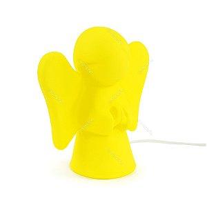 Luminária Anjinho Amarelo