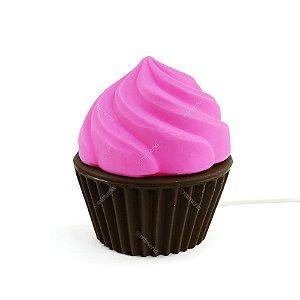 Luminária Cupcake Rosa