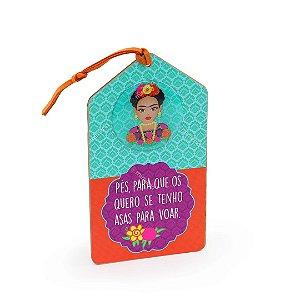 Plaquinha Tag Frida