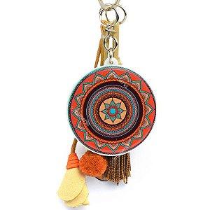 Chaveiro Mandala Tribal Sol